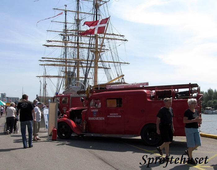skoleskibet danmark model